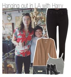 """Hanging out in LA with Harry"" by liamismybabe ❤ liked on Polyvore featuring 7 For All Mankind, 81hours, Topshop, Charlotte Russe, women's clothing, women, female, woman, misses and juniors"