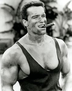 Arnold Schwarzenegger is rightfully a legend in the world of bodybuilding. Here are 35 awesome classic bodybuilding pictures of Arnold Schwarzenegger. Famous Cigars, Cuban Cigars, Le Couple Parfait, Arnold Schwarzenegger Bodybuilding, Don Corleone, Fitness Bodybuilding, Bodybuilding Posters, Bodybuilding Pictures, Bodybuilding Motivation