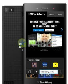 BlackBerry Z3 specs and image leak