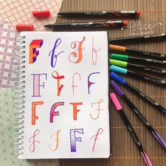 By @olhardealice Love Drawings, Hand Lettering, Bullet Journal, Letters, Personal Development, Nova, Alice, Instagram, Study