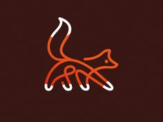 Fox by matthieumartigny #Design Popular #Dribbble #shots