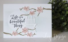 Stampin Up Colorful Seasons Card by Stampin with Liz Design
