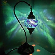 Turkish Lamp / Moroccan Lamp Tiffany Style Glass Desk Table Lamp