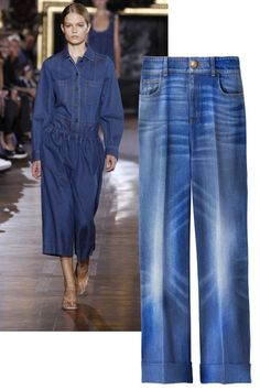 Shop summer 2015's biggest fashion trends: denim flares