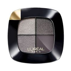 L'Oréal Paris Colour Riche Eyeshadow Quads Silver Couture (117.750 IDR) ❤ liked on Polyvore featuring beauty products, makeup, eye makeup, eyeshadow, l'oréal paris, palette eyeshadow and l oreal paris eye shadow