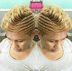 21 Short Blonde Hairstyles for Black Women – New Natural Hairstyles Blond Hairstyles, Quick Weave Hairstyles, My Hairstyle, Cute Hairstyles For Short Hair, Curly Hair Styles, Natural Hair Styles, Protective Hairstyles, Latest Hairstyles, 27 Piece Hairstyles