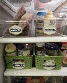 Personne n'aime passer du temps à nettoyer son réfrigérateur. Et pourtant à chaque fois qu'on l'ouvre, on aimerait bien qu'il soit organisé pour éviter de gâcher de la nourriture. La solution ? Utilisez ces 19 astuces pour garder un frigo propre et organisé :-)  Découvrez l'astuce ici : http://www.comment-economiser.fr/garder-son-frigo-propre.html?utm_content=buffer570d1&utm_medium=social&utm_source=pinterest.com&utm_campaign=buffer