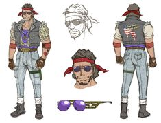 Biker - Pictures & Characters Art - No More Heroes 2: Desperate Struggle