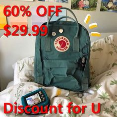 Fjallraven Kanken Backpack oavavxbaul Kanken Backpack, San Antonio, My Favorite Things, My Love, My Style, Cute, How To Wear, Crafts, Stuff To Buy