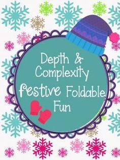 Depth and Complexity Christmas & Winter Holiday Foldable Fun for GIfted GATE students! Super fun, easy to use gets your kiddos thinking hard! Winter Holidays, Christmas Holidays, Cube Template, Christmas Language Arts, Teachers Corner, Gifted Education, Activity Sheets, Practical Gifts, Student Gifts
