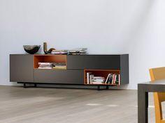 Tv Furniture, Cabinet Furniture, Unique Furniture, Furniture Design, Cabinet Decor, Cabinet Design, Tv Wall Design, House Design, Muebles Living