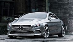 Concept coupe from Mercedes its got cloud!