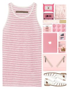 """""""Untitled #1739"""" by tacoxcat ❤ liked on Polyvore featuring moda, Enza Costa, The Body Shop, Kenzo, Nintendo, philosophy, Anastasia, Marc Jacobs e H&M"""