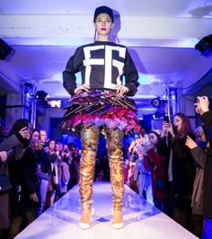 The Fyodor Golan Show. London A/W 2014 Fashion Week. #LFW