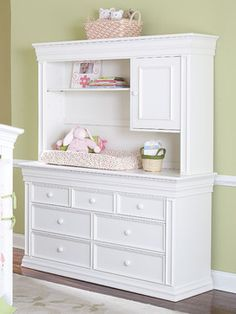 Legendary Double Dresser Hutch Traditional Kids Dressers Other Metro By Baby S