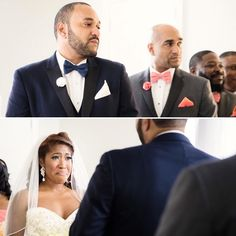 As you can see from this wedding there wasn't a dry eye in the building. Excited to be sharing this sentimental Birmingham wedding planned by @valiaroseevents on the blog now! Photos by @andrebrownphoto _ #birminghamweddings #munaluchi #munaluchibride #weddingmoments