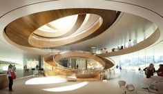 International Olympic Committee Headquarters Lausanne by 3XN