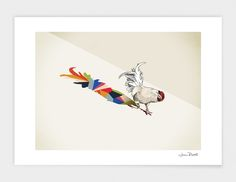 "Curioos.com | ""Walking Shadow 7"" by Jason Ratliff  - Gallery Quality Art Print"