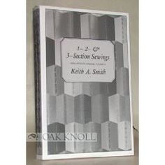 Non-Adhesive Binding, Vol. 2: 1- 2- & 3-Section Sewings [Paperback]  Keith A. Smith (Author)