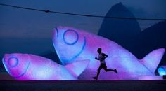 Giant Fish Sculptures Made from Discarded Plastic Bottles in Rio 3