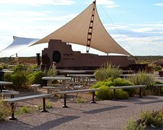 Our trail side park benches at the Grand Canyon skywalk