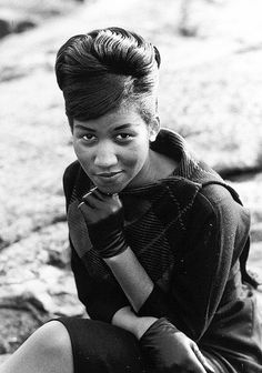 Aretha during her youth