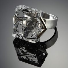 A ring Margaret De Patta made in 1947. Collection of the OMCA, gift of Eugene Bielawski, The Margaret De Patta Memorial Collection. Photograph by Lee Fatherree.