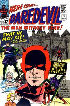 Daredevil's first appearance was in Daredevil 1, dated April 1964. Stan Lee and Bill Everett, creator of the Sub-Mariner, devised the character with some help from Jack Kirby.