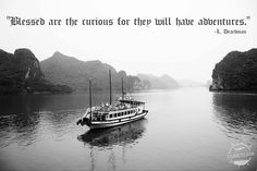 Sailing away in Ha Long bay, Vietnam Facing Fear, Ha Long Bay, Travel Workout, Ways Of Seeing, Travel Quotes, Traveling By Yourself, Egypt, Vietnam, Scotland
