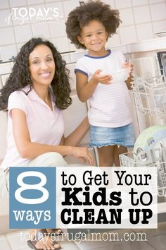 Could you use some tips to get your children to get your children to clean up after themselves? If so, this list will give you some great ways to get this done! :: todaysfrugalmom.com