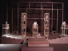 """Set Design """"Evita"""" by Naomi Kasahara at Coroflot.com"""