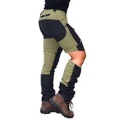 GPx Zip off Pants, Women's Pine Green