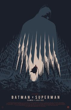 Alternative movie posters of Batman v Superman:... - So Untitled