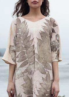 Коллекции - Дизайнерская одежда и аксессуары, окрашенная растениями POET.KA
