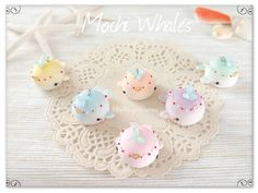 Whale polymer clay Polymer Clay Kawaii, Whale, Desserts, Food, Tailgate Desserts, Whales, Deserts, Essen, Postres