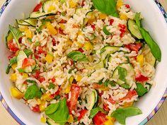 Geheime Rezepte: Sommerlich leichter Reissalat