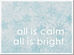 Just Because 11 - All is calm, all is bright. - Sprik Space