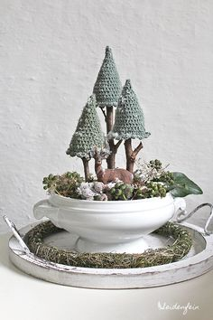 Captivating All About Crochet Ideas. Awe Inspiring All About Crochet Ideas. Best Christmas Gifts, Christmas Time, Christmas Crafts, Christmas Decorations, Xmas, Deco Noel Nature, Calendrier Diy, Diy Calendar, The Beautiful Country