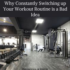 """6a9cddf524538d Why Constantly Switching up your Workout Routine is a Bad Idea-""""You need to  keep switching up your workout routine to keep your body guessing."""
