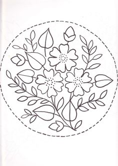 220 Best Embroidery: Circles and Wreaths images