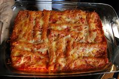 cannelloni Cannelloni Recipes, Lasagna, Italian Recipes, Pasta, Baking, Ethnic Recipes, Food, Bakken, Essen