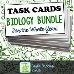 6823 best school images on pinterest life science physical a growing bundle of biology task cards for the year students love them fandeluxe Gallery
