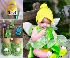 Tinkerbell outfit.