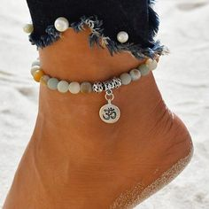 $9.40 | ZG Colorful Rope String Chain Ankles For Women Boho Beads Barefoot Bracelet Ankle on Leg Female Ankle Strap Foot Jewelry Outfit Accessories FromTouchy Style | Free International Shipping. Foot Bracelet, Anklet Bracelet, Teenager Fashion Trends, 24k Gold Jewelry, Jewellery, Ankle Chain, Ankle Strap, Beach Foot Jewelry, Ankle Jewelry