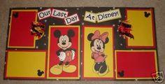 Disney Scrapbook Pages Ideas | Disney Scrapbook Idea Swap. | WDWMAGIC - Unofficial Walt Disney World ...
