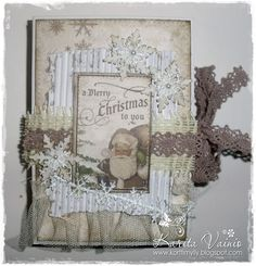 Live & Love Crafts' Inspiration and Challenge Blog: Snowflakes