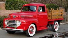 classic #pickup #trucks 1950 Ford Pickup, Pickup Car, Classic Pickup Trucks, Car Ford, Auto Ford, Ford 4x4, Old Ford Trucks, Old Pickup Trucks, Lifted Trucks