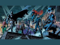 Jim Lee - Batman travelling man in newcastle had a huge poster of this round their till - oh how i wanted to have it