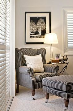 Highgate House – Brisbane based interior designers and decorators Living Room Chairs, Home Living Room, Living Room Designs, Living Room Decor, Bedroom Decor, Wall Decor, Formal Living Rooms, Poltrona Bergere, Poltrona Design