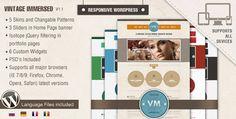 Vintage Immersed Multipurpose WordPress Theme by Themeforest